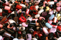 Nail Polish at the Arab Market on flickr by srrf
