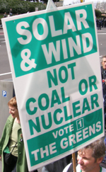 solar and wind, not coal or nuclear