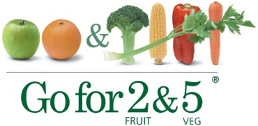 2 fruit and 5 veg