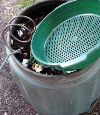 tools of the compost trade: aerator and sieve